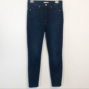 Good American Good Legs dark wash high rise 6/28